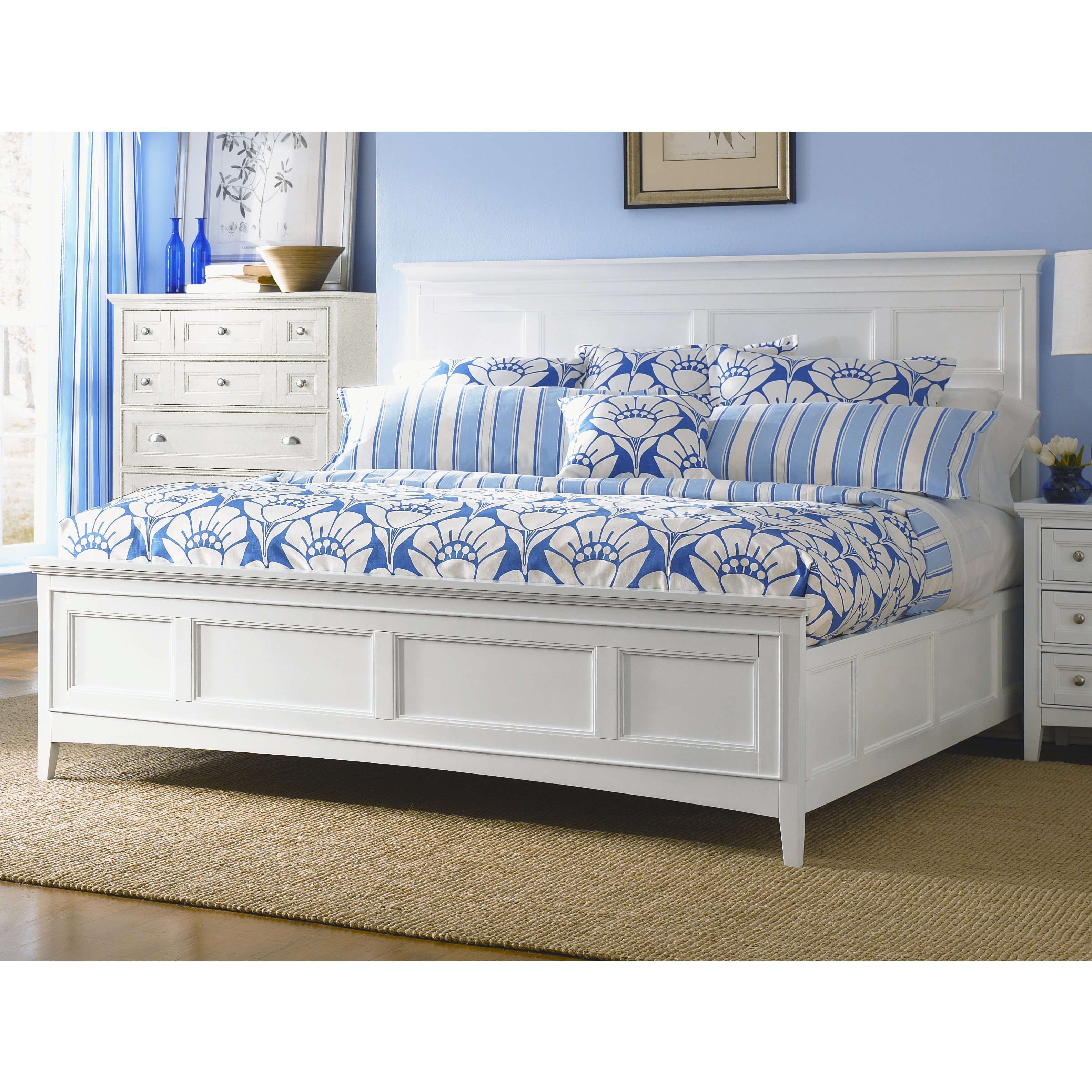 Shop Havenside Home Traverse Panel Bed With Storage Free
