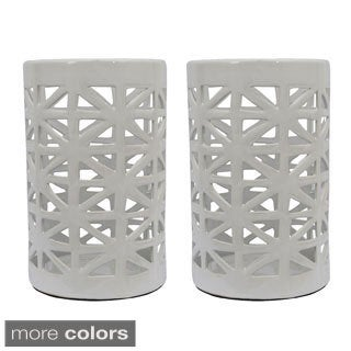Ceramic Lanterns (Set of Two)