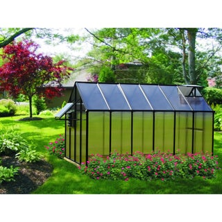Link to Monticello (8x12) Black Mojave Greenhouse Similar Items in Gardening