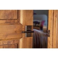 Sure-Loc Rustic Logan Vintage Bronze Lever Handle