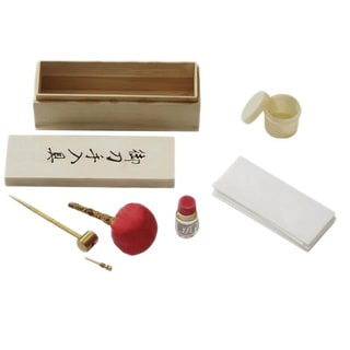 Japanese Samurai Sword Cleaning Kit