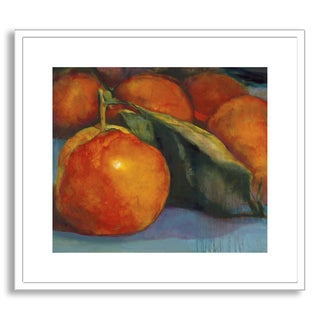 Gallery Direct Sylvia Angeli's 'Orange Glow' Framed Paper Art