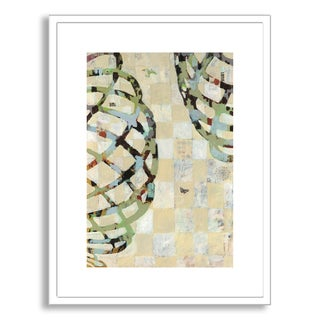 Gallery Direct Judy Paul's 'Twist I' Framed Paper Art