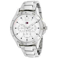 Tommy Hilfiger Women's  Multi-function White Dial Watch