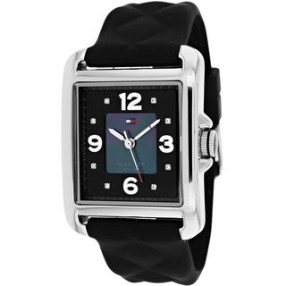 Tommy Hilfiger Women's 1781244 Classic Synthetic Black Dial Watch