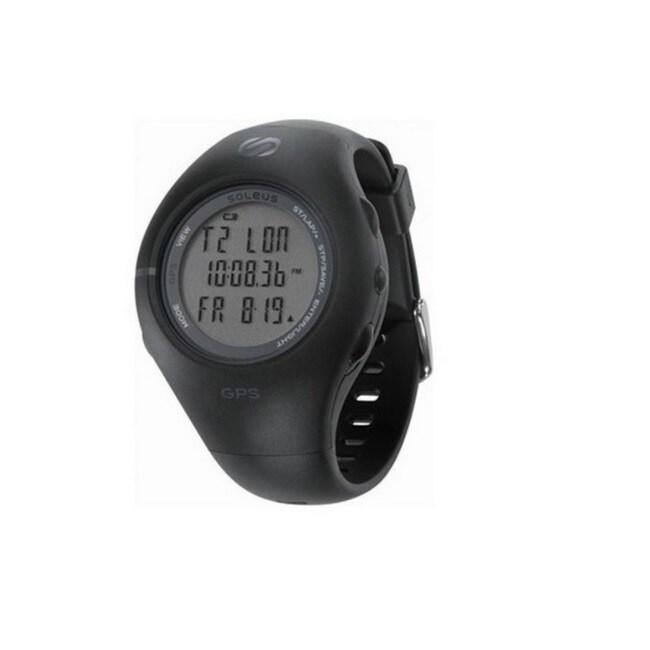 SoleusAir SG991 Running 1.0 GPS Watch (Black)