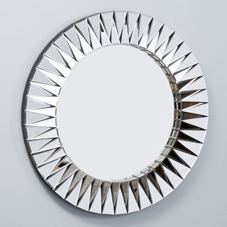 Jade Round Deco Mirror by Christopher Knight Home