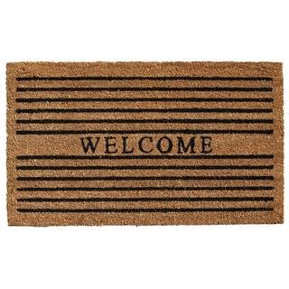 Winchester Welcome Coir with Vinyl Backing Doormat (1'5 X 2'5)