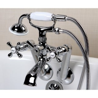Tub Wall Mount Chrome Clawfoot Tub Faucet