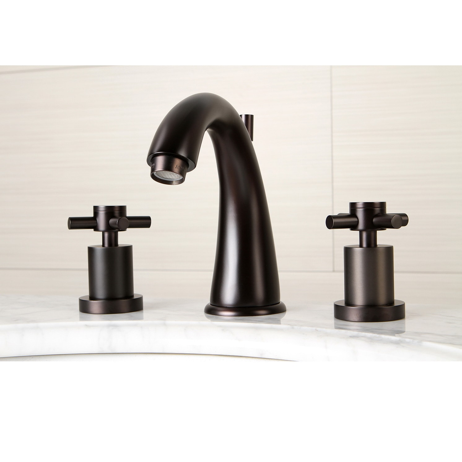 Oil Rubbed Bronze Widespread Bathroom