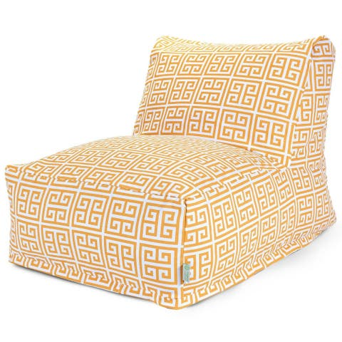 Majestic Home Goods Indoor Outdoor Towers Bean Bag Chair Lounger 36 in L x 27 in W x 24 in H