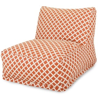 Majestic Home Goods Bamboo Design Bean Bag Lounger Chair