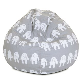Majestic Home Goods 'Ellie' Small Classic Bean Bag (2 options available)