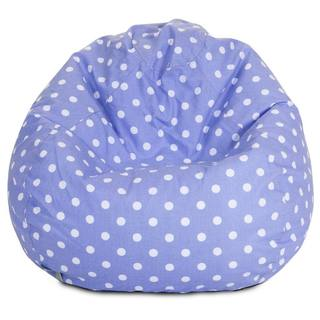 Majestic Home Goods Polka Dot Small Classic Bean Bag