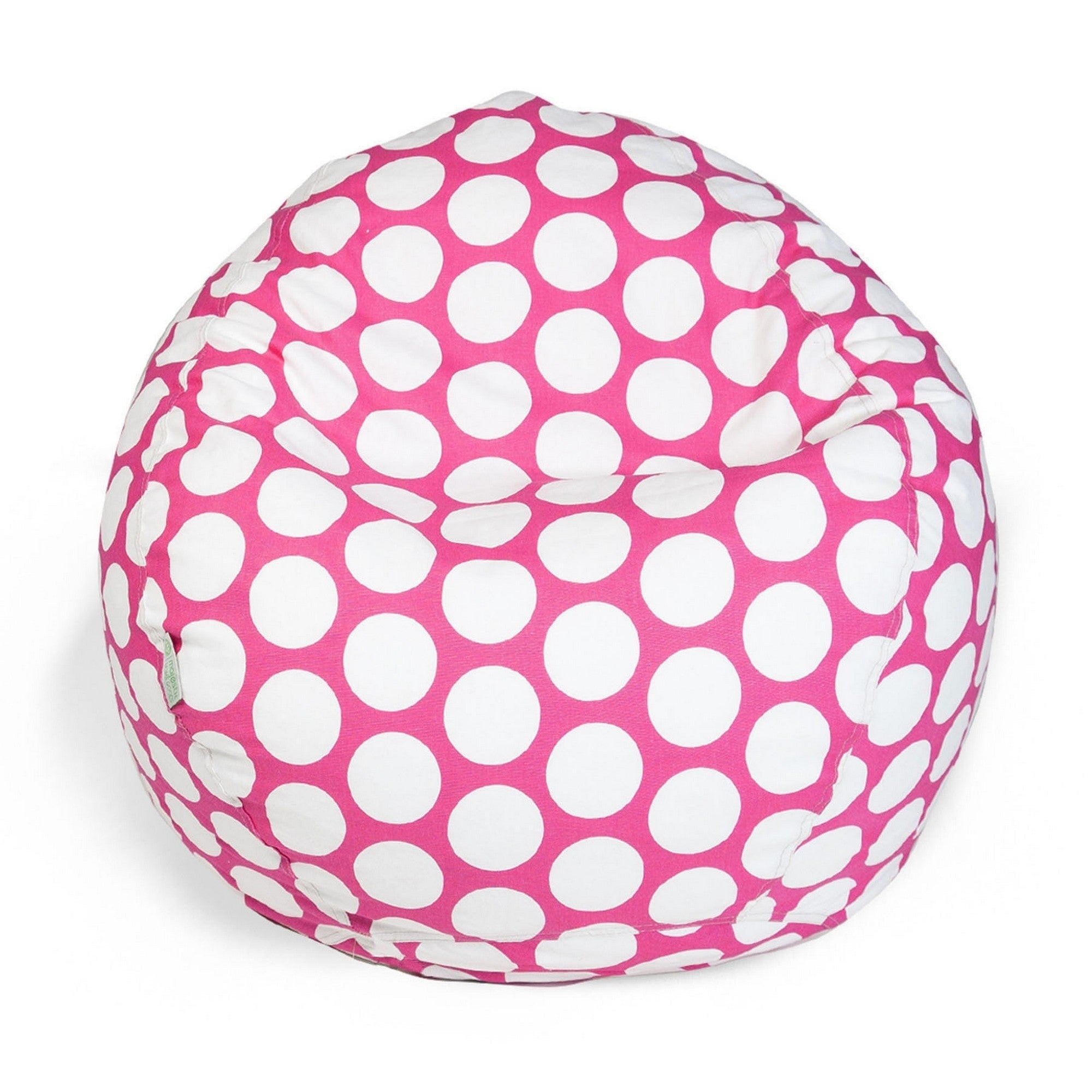 Admirable Majestic Home Goods Large Polka Dot Classic Bean Bag Chair Small Large Alphanode Cool Chair Designs And Ideas Alphanodeonline