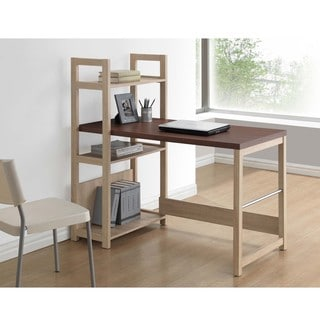 Baxton Studio Hypercube Sonoma Oak Finishing Modern Writing Desk