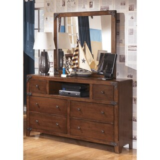 Signature Design By Ashley Delburne Dresser and Mirror