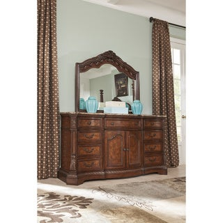 Signature Design by Ashley Ledelle Dresser and Mirror