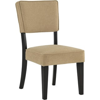 Signature Design by Ashley Gavelston Beige Side Chair (Set of 2)