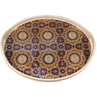 Moroccan Design Oval Tray Rabat