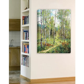 Portfolio Canvas Decor Spring Jubilee with Path Large Printed Canvas Wall Art Painting