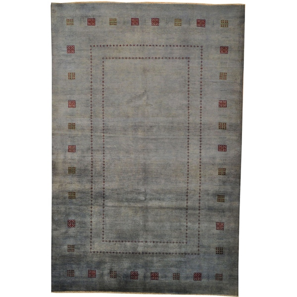 100 Wool Persian Area Rug: 100-percent Wool Hand-knotted Modern Gabbeh Oriental