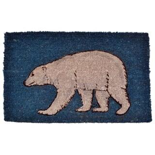 Polar Bear Coir Doormat