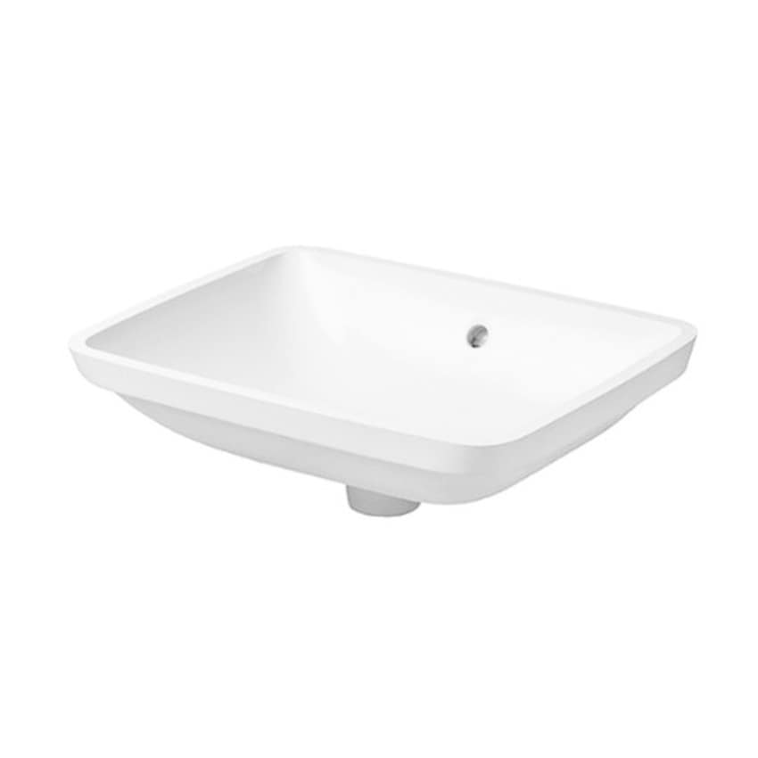 Duravit Starck 3 19.083-inch Undercounter Vanity Basin without Tap ...