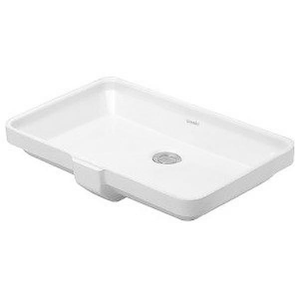 Duravit 20.625-inch 2nd Floor White Undercounter Basin 03165300001