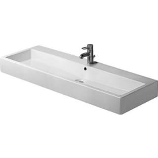 Duravit 47.25-inch Vero White No Hole Washbasin