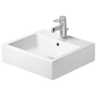 Duravit 19.375-inch Vero White Washbasin with Overflow