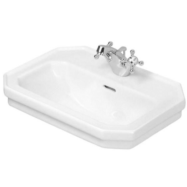 Duravit 1930 19.75-inch White Handrinse Basin 0785500000