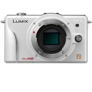 Panasonic Lumix DMC-GF2 White Digital Micro Four Thirds Camera (Body)