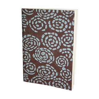 Whirlpool Handmade Brown and Blue Journal (India)
