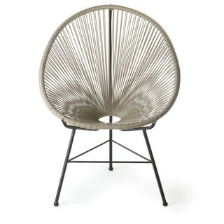 Link to Handmade Acapulco Gray Lounge Chair Similar Items in Accent Chairs