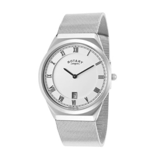 Rotary Men's GB02609-21 Stainless Steel White Watch