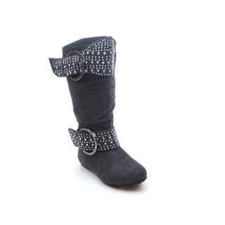 Blue Children's Girls' K-Lorena Stud Boots|https://ak1.ostkcdn.com/images/products/9607283/P16792939.jpg?impolicy=medium