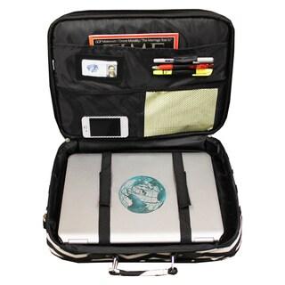 World Traveler Chevron 17-inch Lightweight Laptop Computer Briefcase