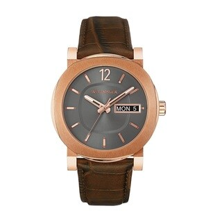 Wittnauer Men's WN1002 Rose Gold Tone Stainless Steel Watch