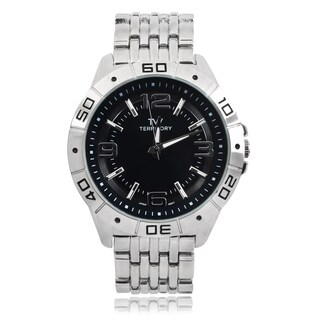 Territory Men's Round Face Quartz Watch