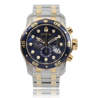 Invicta Men's 0077 'Pro Diver' Quartz Chronograph Watch