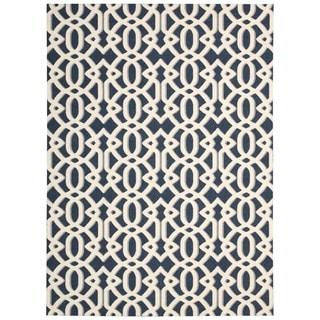 Rug Squared Milford Blue Rug (2'6 x 4')