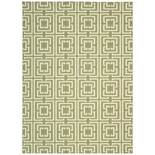 Rug Squared Milford Green Rug (2'6 x 4')