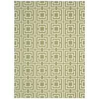 Rug Squared Milford Green Rug (2'6 x 8') - 2'6 x 8'