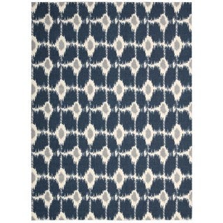 Rug Squared Milford Navy Rug (2'6 x 8')