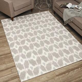 Rug Squared Milford Grey Rug (5' x 7')
