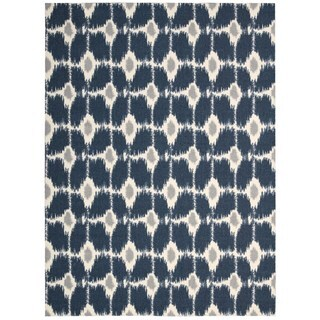 Rug Squared Milford Navy Rug (5' x 7')