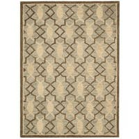 Rug Squared Seaside Light Green Rug - 8'0x10'6