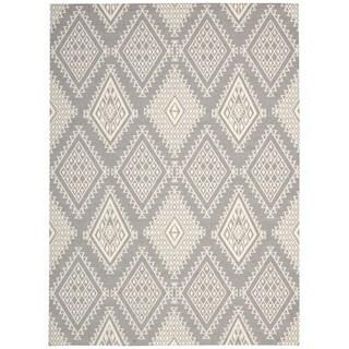 Rug Squared Milford Grey Rug (4' x 6')
