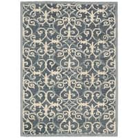 Rug Squared Seaside Denim Rug - 5' x 7'6